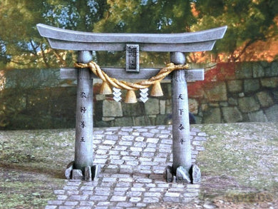 3DAlienWorlds Medieval/Fantasy Samurai Small Torii Gate 28mm TableTop/Wargaming/Medieval Buildings 3D Printed