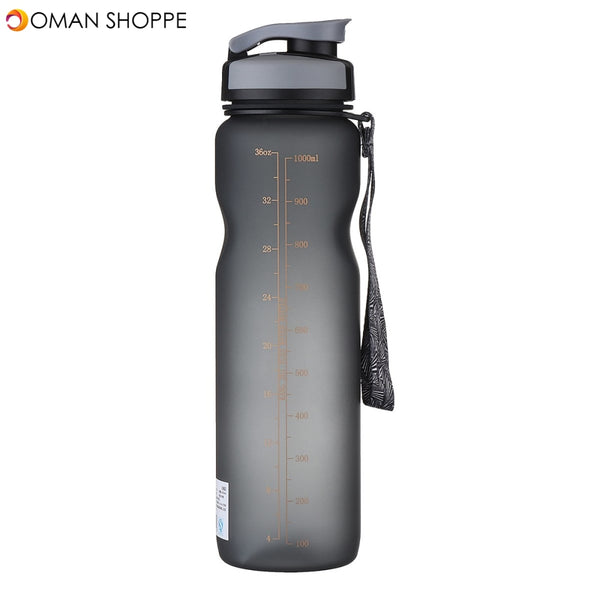 1000ML Portable Leakproof Eco-friendly EP+Safety+Degradable Sports Water Bottle Drinking Cup for Outdoor Cycling Travelling School Bottle