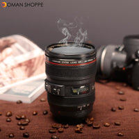 400ML Coffee Tea Mug SLR Camera Lens 24-105mm Food Grade PC 1:1 Scale Creative Cups