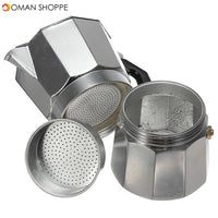 Aluminum Moka Espresso Latte Percolator Stove Coffee Maker Pot Coffee Percolators