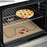 Anti-oil High Temperature Non-stick BBQ Oven Baking Mat Reusable Cloth Anti-oil Mat