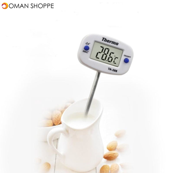 Digital Kitchen Thermometer For BBQ Electronic Digital Food Probe Thermometer BBQ Water Milk Meat Temperature Kitchen Tools