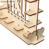 DIY Chocolate Creative Wooden Display Candy Stand Dessert Rack for Wedding or Party Decorations