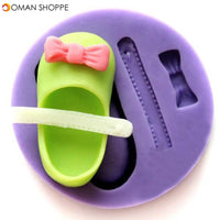 DIY Small Shoes Silicone Mold Cake Pudding Chocolate Soap Mould