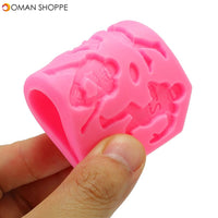 Food Grade Silicone Cake Mold DIY Chocalate Cookies Ice Tray Baking Tool Player Shape