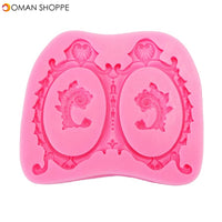 Food Grade Silicone Cake Mold DIY Chocalate Cookies Ice Tray Baking Tool Special Tortoise Shape