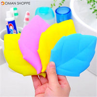 Honana CF-DW02 Silicone Leaf Shape Water Cup Folding Mini Camping Hiking Travel Pocket Drinking Cup