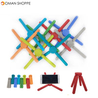 Honana CF-MP02 Multifunctional CrosS-shaped Folding Silicone Placemat Coaster Cell Phone Mount