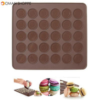 Honana Silicone Baking Macarons Mat Cake Cookie Chocolate Molds Mould Baking Tool