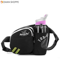 KCASA KC-BC15 Running Sport Cycling Waist Water Bottle Carrier Belt Bag Large Capacity Kettle Holder