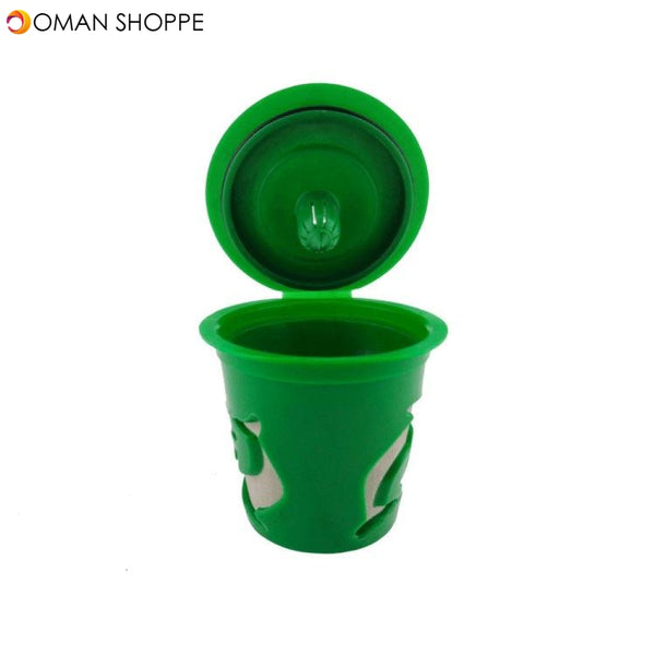 KCASA KC-COFF13 Refillable Coffee Capsule Cup Multiple Color Doiphin Reusable Refilling Filter For Nespresso Machine