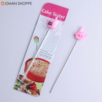 KCASA KC-SN05 Stainless Steel Cake Biscuit Tester Needle Skewer Long Stirring Rod Testing Tools
