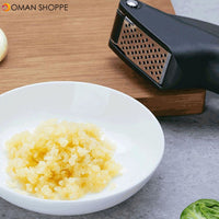 HUOHOU Kitchen Garlic Presser From Xiaomi Youpin Manual Garlic Crusher Kitchen Tool Micer Cutter Squeeze Tool Fruit & Vegetable Tools