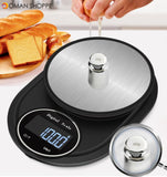 Minleaf ML-KS1 Multifunctional Mini Kitchen Scale 5kg/0.1g Kichen Baking Scale Portable Electronic Scale Measuring Tool