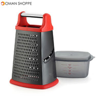 Multi-Function Stainless Steel Four Sides Planer Non-Stick Vegetable Grater Cheese Slicer Fruit Chopper for Kitchen Supplies