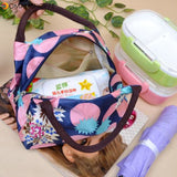 Oxford Insulation Lunch Box Bag Lunch Meal Bags For Thermal Waterproof Picnic Outing Carry Tote Bag