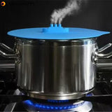 Silicone Ship Steaming Lid Steam Boat Pot Lid Pot Cover Food Fresh Covers Kitchen Cooking Tool