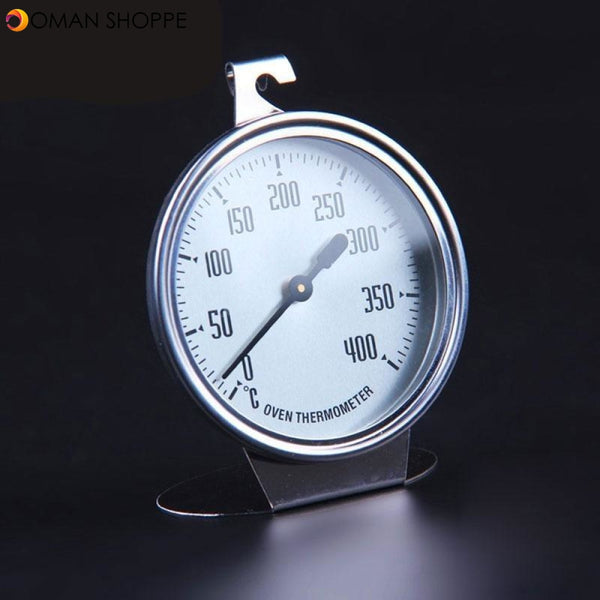 0-400 Degree Stainless Steel Oven Thermometer Special Food BBQ Measuring Thermometers Baking Tools Kitchen Accessories