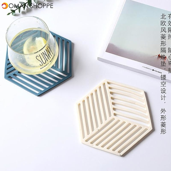 Table Mats Placement Dining Tableware Pad Lotus Shape Tea Cup Bowl Decoration Coaster Christmas Pads