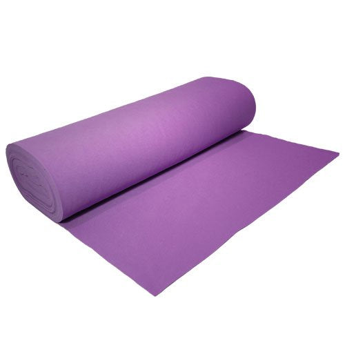 "Acrylic Felt by the Yard 72"" Wide X 10 YD Long: Lavender - Supreme Acoustics"