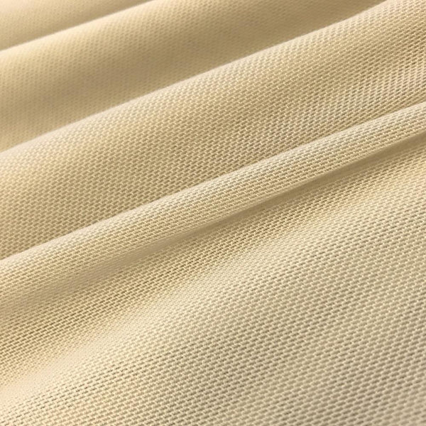 "Solid Power Mesh Fabric Nylon Spandex 60"" wide Stretch Sold By Yard Champagne"
