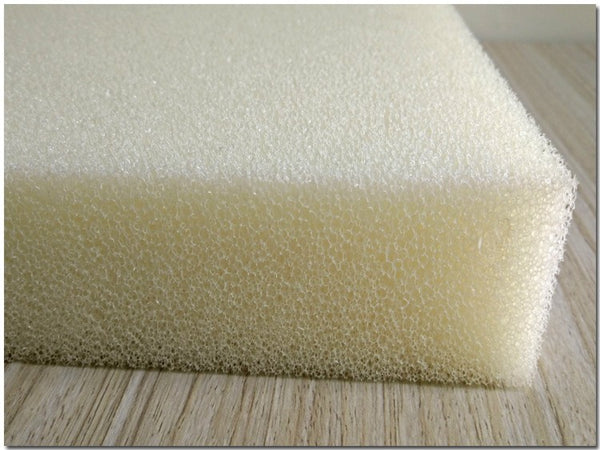 "Dry Fast Reticulated Outdoor Foam - Perfect for Long Term Outdoor Patio Furniture use. (5"" x 24"" x 72"")"