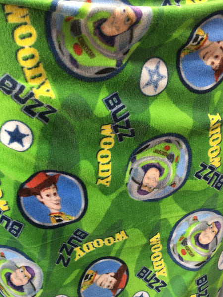 Toy Story Buzz Lightyear By Camelot Fabrics Fleece Printed Fabric - By The Yard - Supreme Acoustics