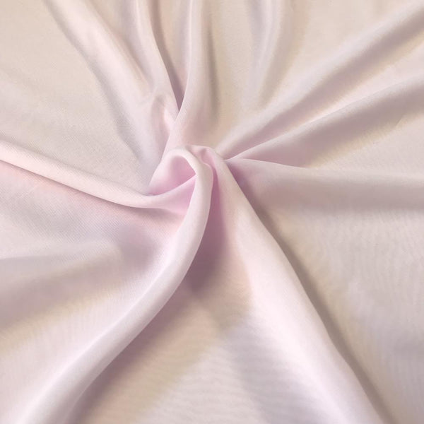 Light Pink Chiffon Fabric Polyester Sheer 58'' Wide By the Yard for Garments Decoration Crafts special occasions bridesmaid dresses and more - Supreme Acoustics