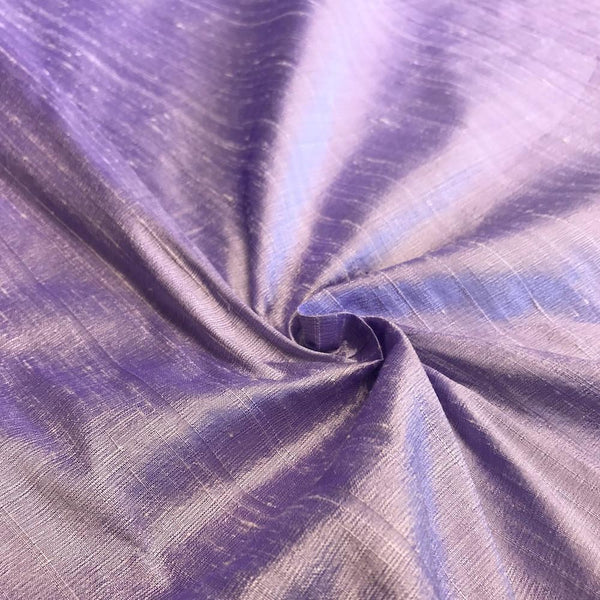 "100% Pure Silk Dupioni Fabric 54""Wide BTY Drape Blouse Dress Craft Sold By The Yard Lilac. - Supreme Acoustics"