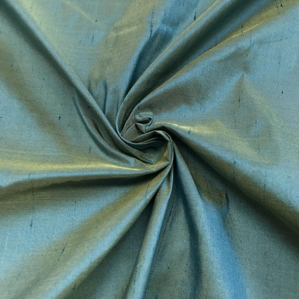 "Sea Green 100% Pure Silk Shantung Fabric 54""Wide BTY Drape Blouse Dress Craft Sold By The Yard. - Supreme Acoustics"