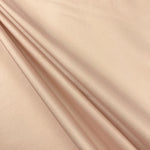 "Polyester Taffeta Lining Fabric 54"" Wide Fabric Sold By The Yard. Nude - Supreme Acoustics"