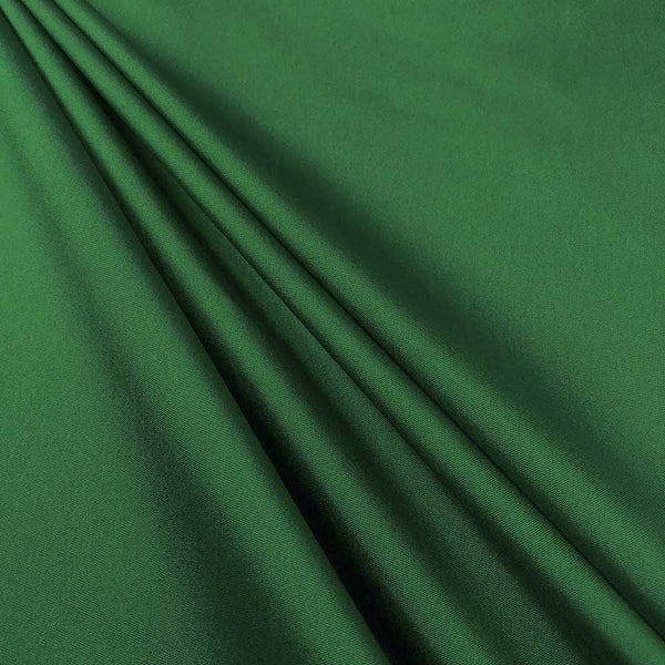 "Polyester Taffeta Lining Fabric 54"" Wide Fabric Sold By The Yard. Emerald"