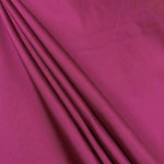 "Polyester Taffeta Lining Fabric 54"" Wide Fabric Sold By The Yard. Magenta"
