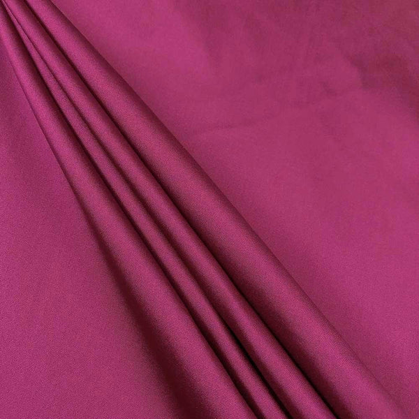 "Polyester Taffeta Lining Fabric 54"" Wide Fabric Sold By The Yard. Magenta - Supreme Acoustics"