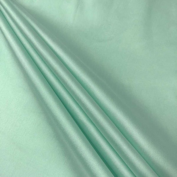 "Polyester Taffeta Lining Fabric 54"" Wide Fabric Sold By The Yard.Mint - Supreme Acoustics"