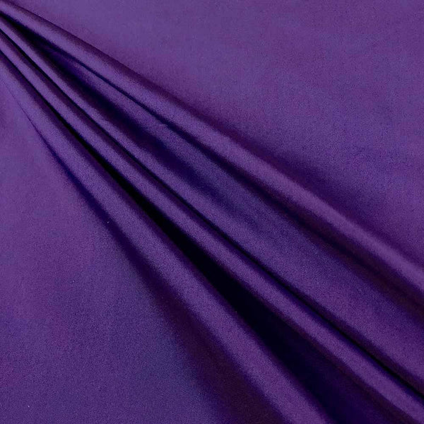 "Polyester Taffeta Lining Fabric 54"" Wide Fabric Sold By The Yard. Purple - Supreme Acoustics"