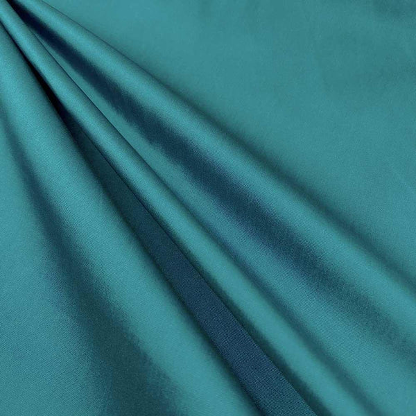 "Polyester Taffeta Lining Fabric 54"" Wide Fabric Sold By The Yard. Teal - Supreme Acoustics"