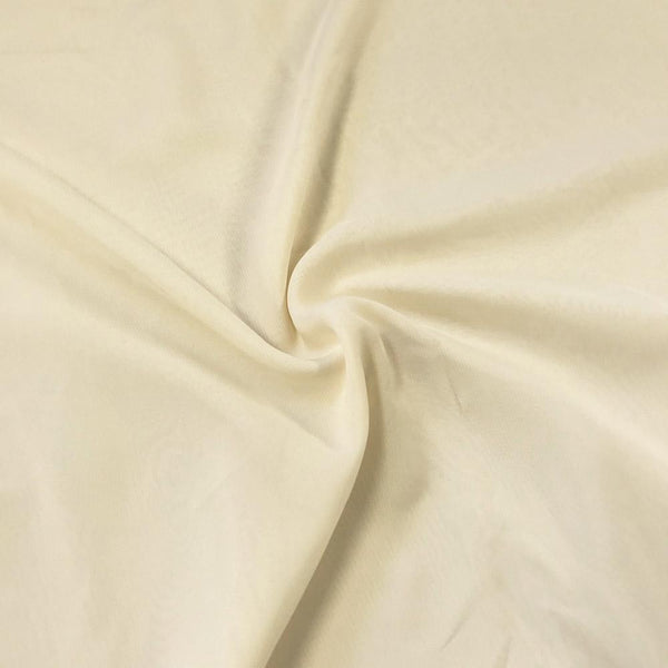 Ivory Chiffon Fabric Polyester Sheer 58'' Wide By the Yard for Garments, Decoration, Crafts special occasions, bridesmaid dresses and more.