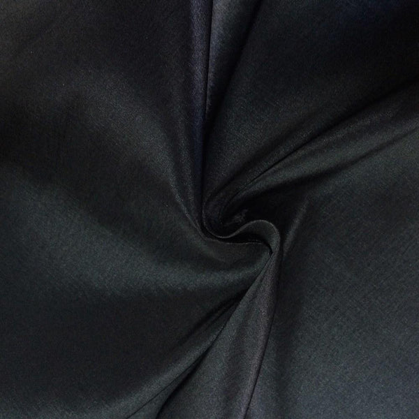 "Taffeta Stretch Fabric 2-Way Stretch 58"" Wide By The Yard (Black) - Supreme Acoustics"
