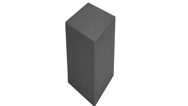 "Acoustic Bass Trap Rectangular/Cube - Charcoal Bass Trap Rectangular/Cube 48"" X 12"" X 12"" - Supreme Acoustics"