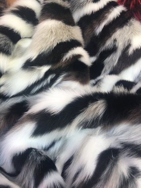 Camouflage Fake Fur Fabric / Army Stone / Sold By The Yard - Supreme Acoustics