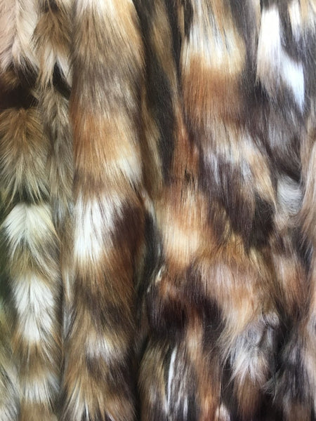 Faux Fake Fur Animal Coat Costume Fabric / Top Exotic Designs # 3 / Sold By The Yard - Supreme Acoustics