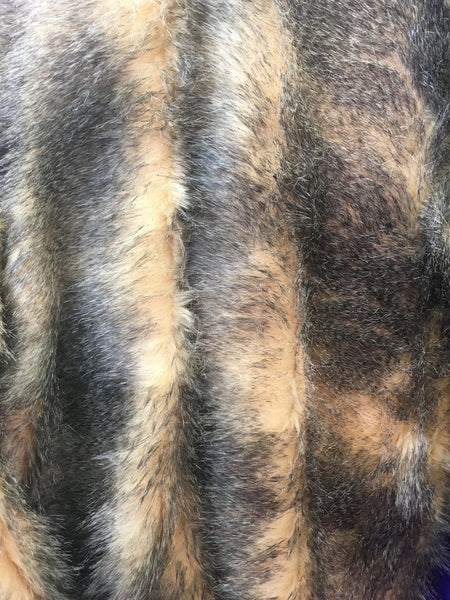 Faux Fake Fur Animal Coat Costume Fabric / Top Exotic Designs # 5 / Sold By The Yard - Supreme Acoustics