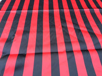 Dresses tablecloths night gowns Skirts prom dresses wedding dresses Red/Black inch Stripe Soft/silky Chartreuse Satin Fabric. (20 Yards).