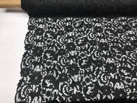 Guipure Lace Fabric Black By The Yard Embroidered Bridal Veil Lace Guipure Wedding Dress-Gupure-Prom-Gown Guipure Decoration