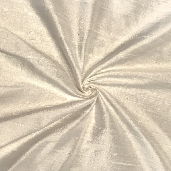 "100% Pure Silk Dupioni Fabric 54""Wide BTY Drape Blouse Dress Craft Sold By The Yard. Off White - Supreme Acoustics"
