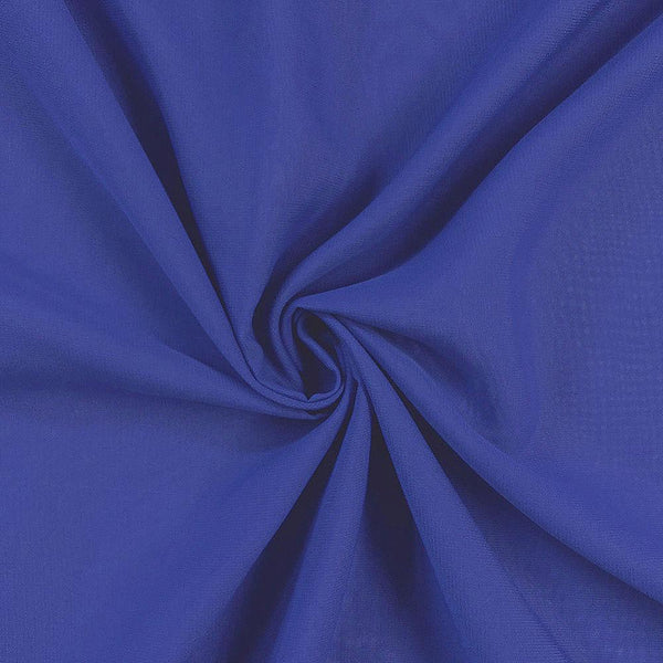 Royal Chiffon Fabric Polyester Sheer 58'' Wide By the Yard for Garments, Decoration, Crafts special occasions, bridesmaid dresses and more.