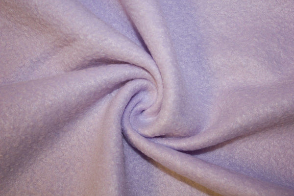 Anti Pill Polar Fleece Solid Sold By The Yard Lavender - Supreme Acoustics