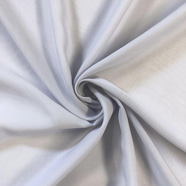 Silver Chiffon Fabric Polyester Sheer 58'' Wide By the Yard for Garments, Decoration, Crafts special occasions, bridesmaid dresses and more. - Supreme Acoustics