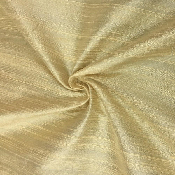 "100% Pure Silk Dupioni Fabric 54""Wide BTY Drape Blouse Dress Craft Sold By The Yard Yellow - Supreme Acoustics"